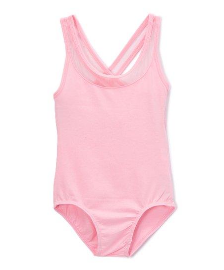 eacb25c12a46 Wenchoice Pink Criscross Tank Leotard - Toddler   Girls