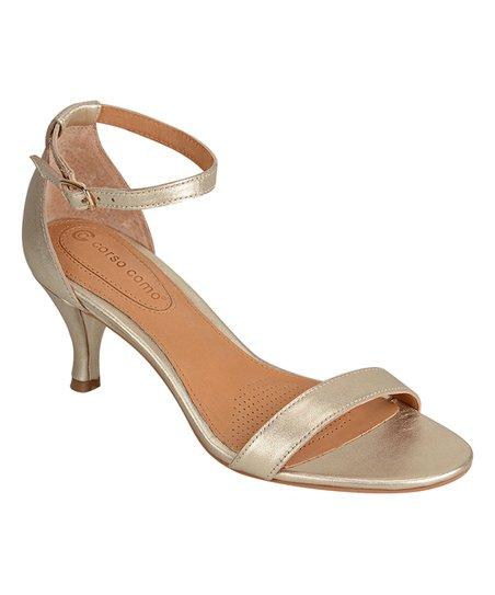 Platinum Caitlynn Leather Sandal