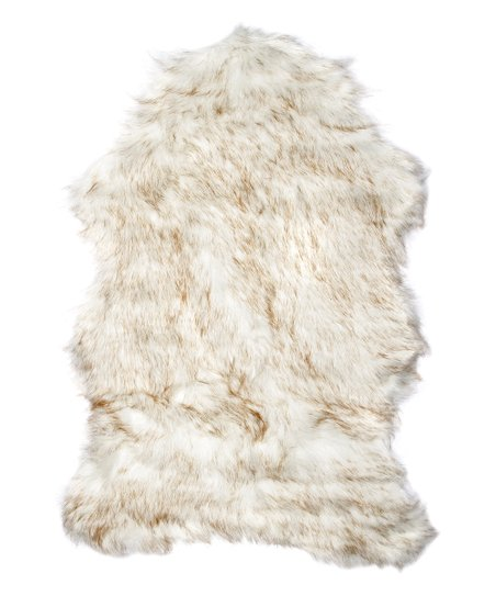 Faux sheepskin rug Extra Large Gradient Brown Gordon Faux Sheepskin Rug Zulily Luxe Faux Fur Gradient Brown Gordon Faux Sheepskin Rug Zulily