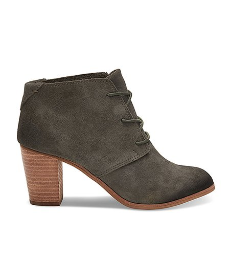 57e746175f7 love this product Olive Lunata Suede Lace-Up Boot - Women