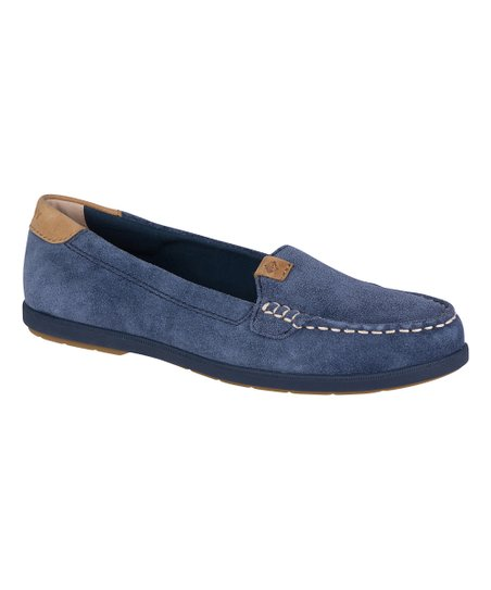 a1e37db320c Sperry Top-Sider Navy Coil Mia Suede Loafer