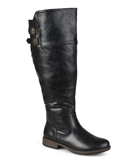 277737124b29 Brinley Co. Black Tori Extra Wide-Calf Boot - Women