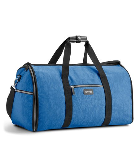 Winter Blue 2 In 1 Convertible Garment Duffel Bag