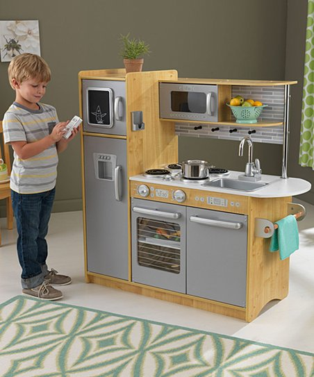 Kidkraft Natural Uptown Kitchen Set Zulily