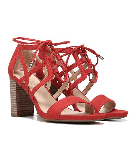 68145b1b9 Franco Sarto Hibiscus Red Jewel Sandal