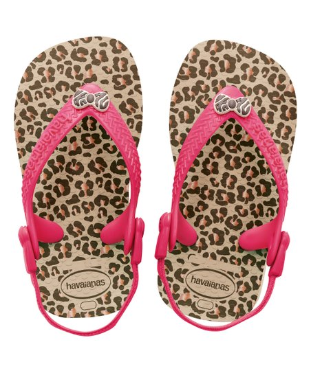 a639b6f2b love this product Sand Gray Leopard Baby Chic Sandal - Kids