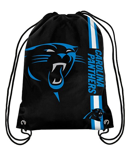 new styles 80250 079bd BSI Products Carolina Panthers Drawstring Backpack