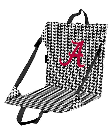 Outstanding Logo Chair Inc Alabama Crimson Tide Houndstooth Stadium Ibusinesslaw Wood Chair Design Ideas Ibusinesslaworg