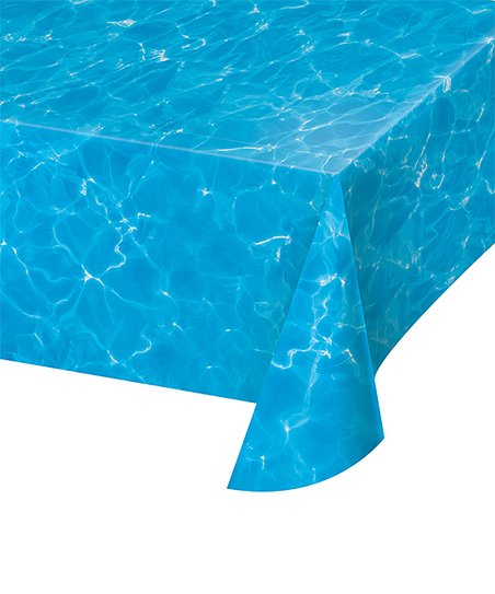 Creative Converting Blue Water Plastic Table Cloth Zulily
