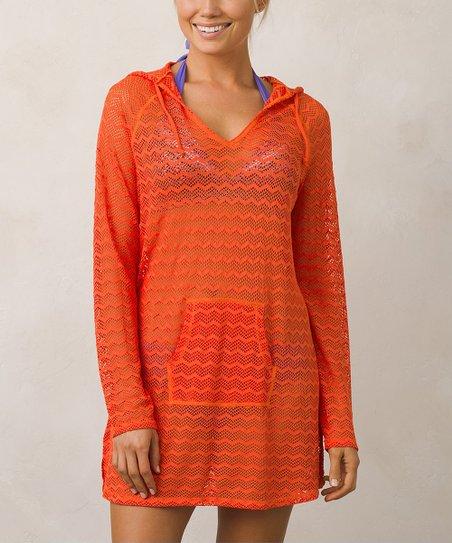 1dd4adc64b prAna Electric Orange Luiza Tunic - Women | Zulily