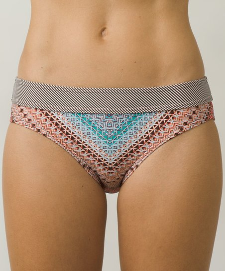 a6fc1d1c4951 love this product Sunlit Coral Riviera Ramba Bikini Bottoms - Women