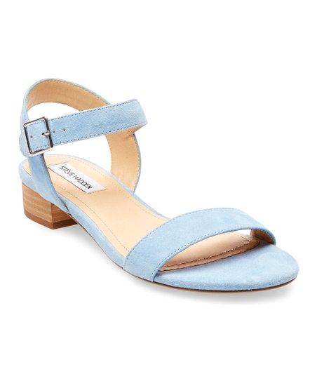 Light Blue Cache Suede Sandal - Women