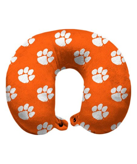 Pegasus Sports Clemson Tigers Snap Neck Pillow Zulily