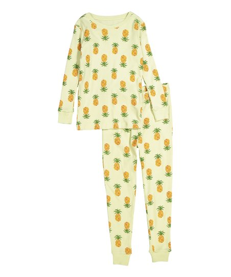 42c4a3b78e17 love this product Yellow Pineapple Cotton Pajama Set - Infant