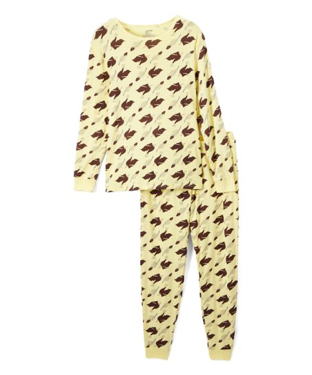 0df654c53c05 love this product Pale Yellow Eagle Organic Cotton Pajama Set - Men