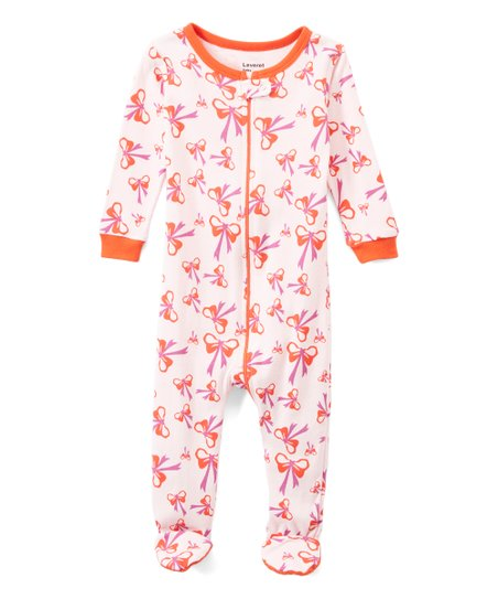 e4fc6e24b0 love this product Pink Bow Organic Cotton Footie Pajamas - Infant   Toddler