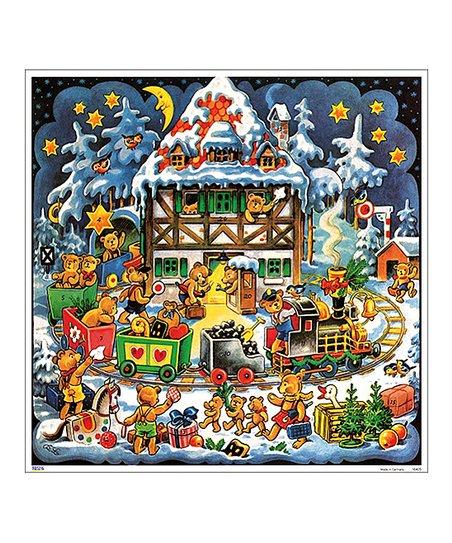 Korsch Teddy Bear Christmas Train Paper Advent Calendar Best Price And Reviews Zulily