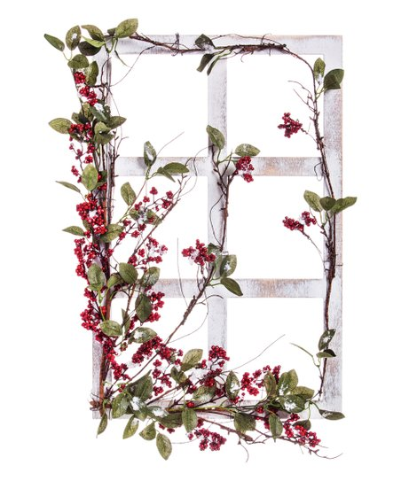 Cypress Home White Wooden Window Frame Wall Decor Zulily
