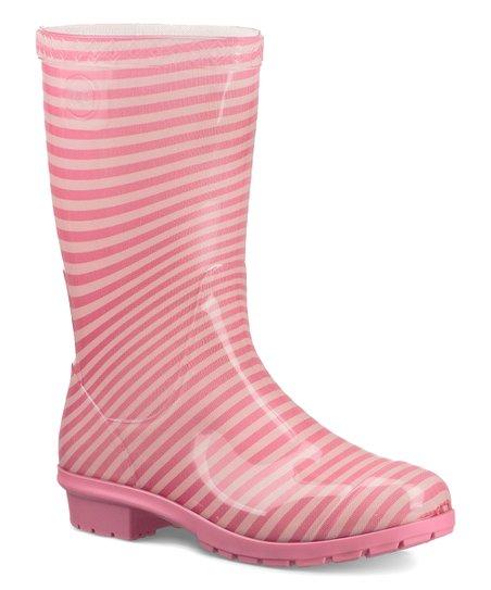 b7d846644f5 love this product Pink Azalea Stripe Raana Boot - Girls