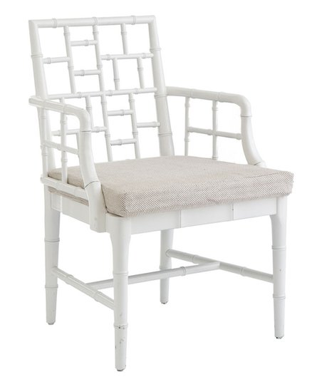 Enjoyable Wisteria White Chinese Chippendale Chair Gmtry Best Dining Table And Chair Ideas Images Gmtryco
