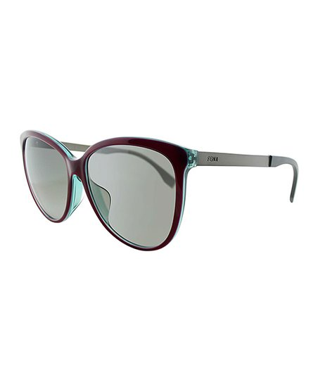 808919eed4 love this product Red   Gray Cat-Eye Sunglasses - Women