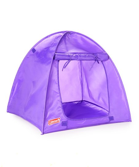 Purple Coleman Camping Tent For 18 Doll