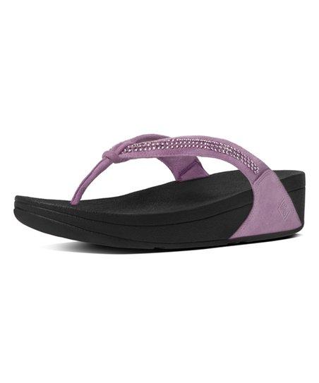 d6435c4654fd FitFlop Dusty Lilac Crystal Swirl Sandal - Women