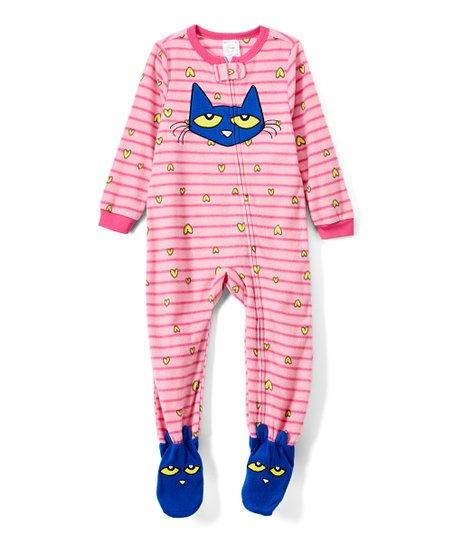 e8141be4d Pete the Cat Pink Footie Pajamas - Infant
