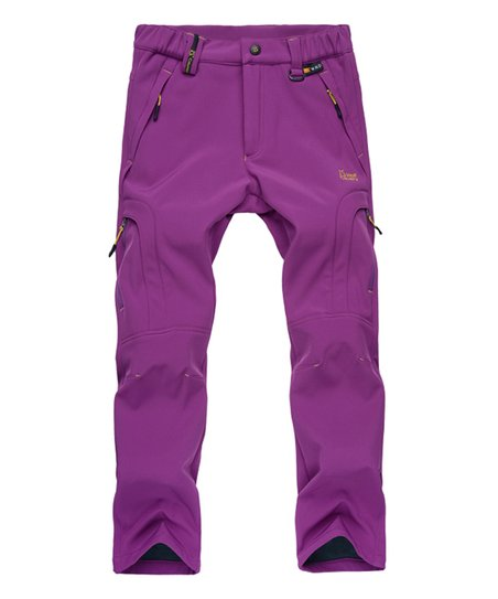 love this product Purple Waterproof Fleece-Lined Pants - Women 090b0ab2564c