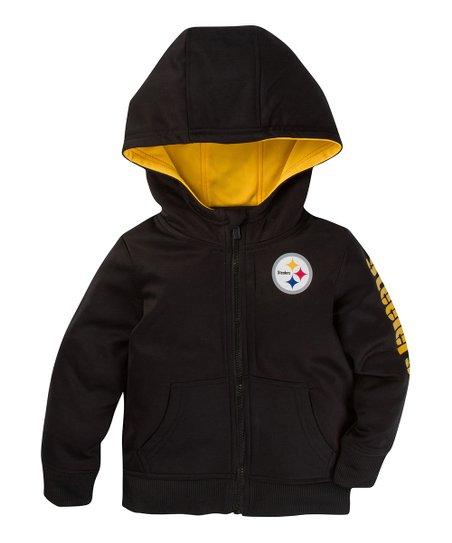 premium selection 3b009 6f0af Gerber Childrenswear Pittsburgh Steelers Zip-Up Hoodie