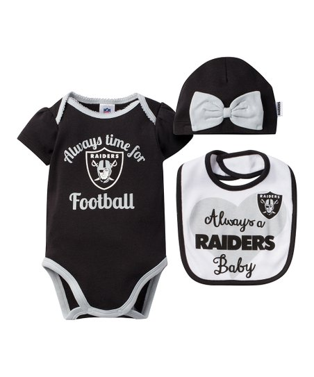 love this product Oakland Raiders Bow-Embellished Beanie Set - Infant 13185399c31f