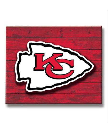 Kansas City Chiefs Led Wood Wall Sign Zulily