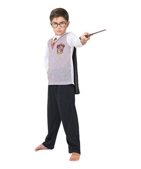 Superior Harry Potter Hogwarts Costume Pajama Set   Boys