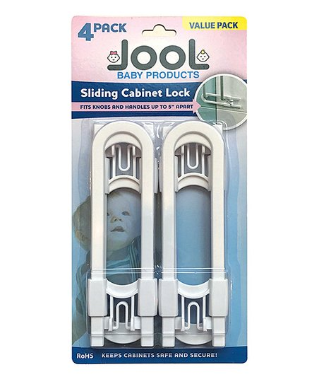 Jool Baby Products Sliding Cabinet Lock Set Of Four Zulily