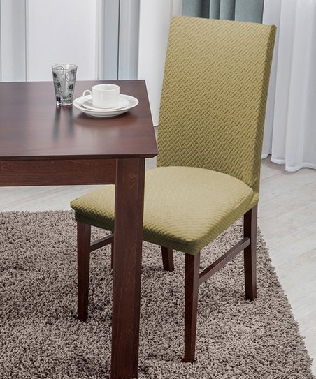 love this product Taupe Dining Chair Slipcover 70786bd60