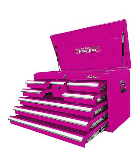 The Original Pink Box Pink Eight-Drawer Tool Chest  99b2fa2f59