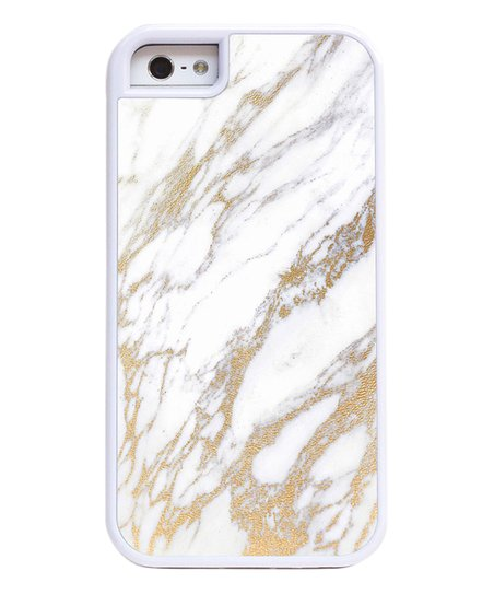 the best attitude 02784 d0b23 Case Collective White & Gold Marble Phone Case