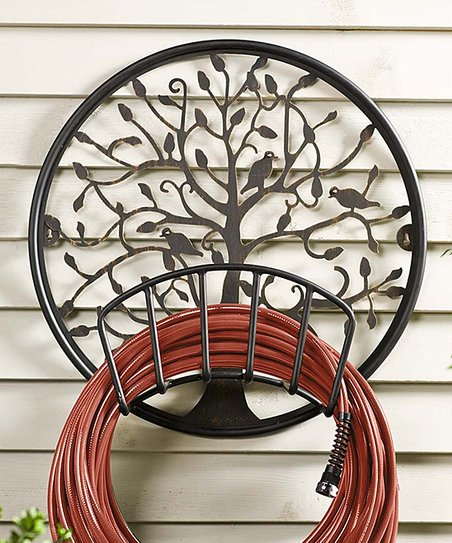 Plow Hearth Tree Of Life Metal Hose Holder Zulily