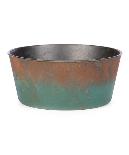 Willow Group Brown Green Ombre Round Planter Zulily