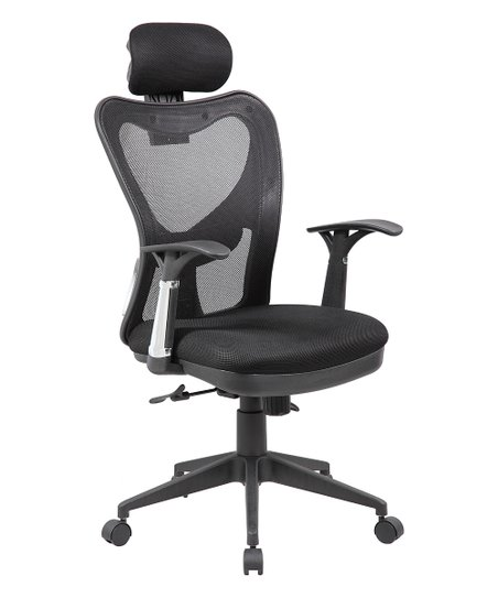 Adjule Lumbar Support High Back Office Chair