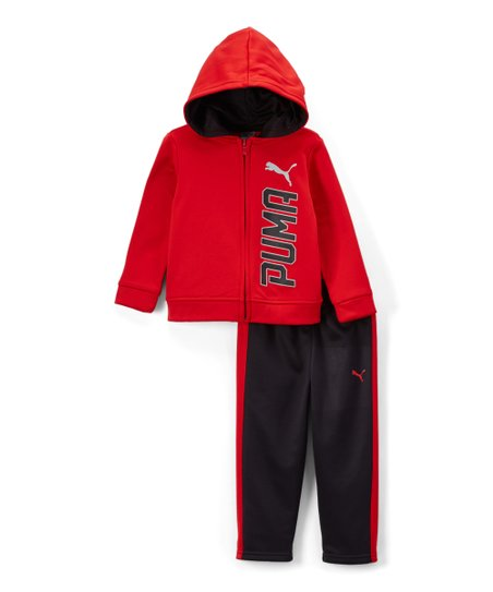 9684cd450 love this product Red Tech Fleece Zip-Up Hoodie & Pants - Infant & Toddler