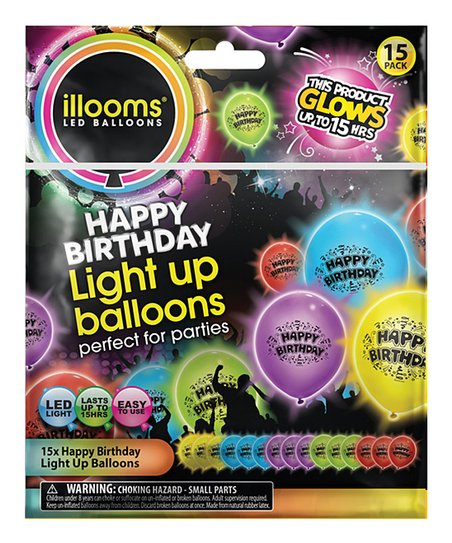 Love This Product Happy Birthday Light Up Balloon