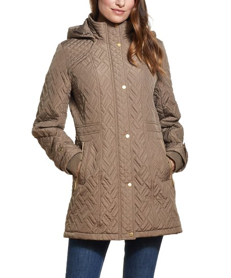 Weathercast Dune Women's Quilted Hooded Walker Jacket