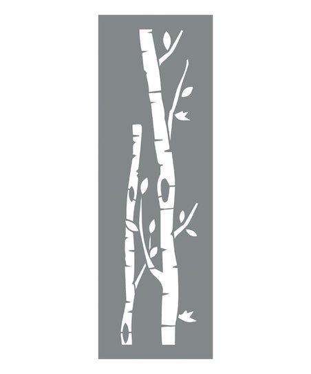 DecoArt Birch Tree Paint Stencil - Set of Two  78ecbd5da0