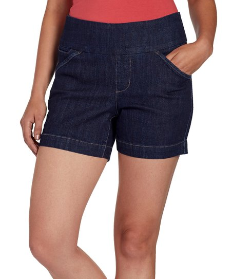 eb1ccb5f798f Jag Jeans Dark Shadow Ainsley Pull-On Shorts - Plus Too | Zulily