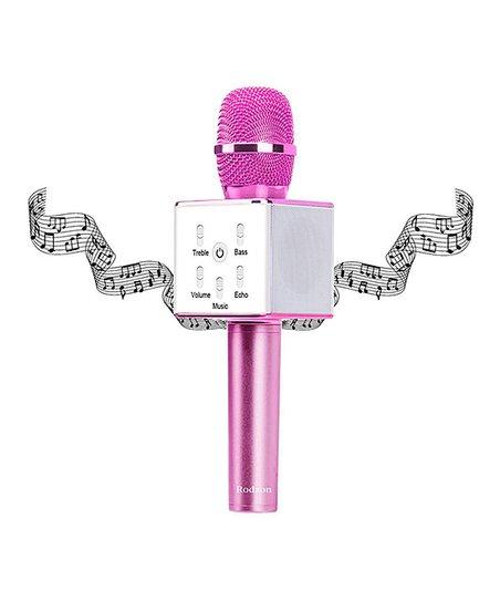 Premier Fuchsia Wireless Karaoke Microphone