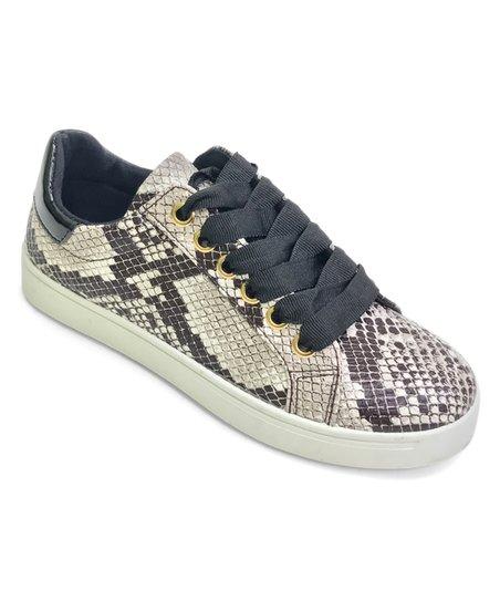 Snakeskin Grandslam Sneaker - Women