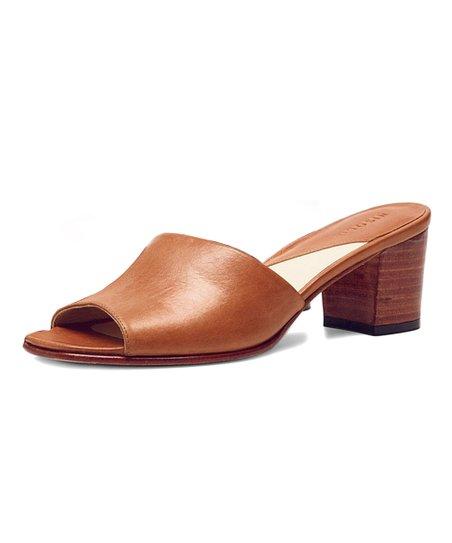 16a87a60bc1d5 Nisolo Honey Elizabeth Leather Slide - Women