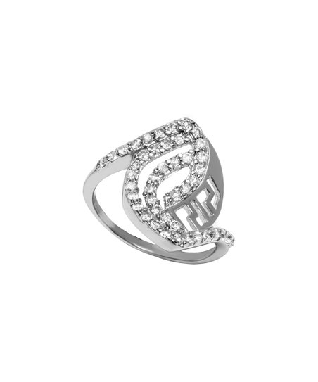 7fcedd39a love this product Sterling Silver Marquise-Cutout Ring With Swarovski®  Crystals