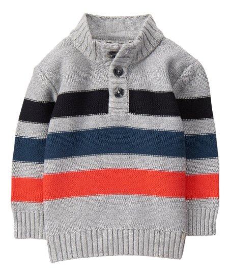 Gymboree Baby Boys Stripe Trim Sweater